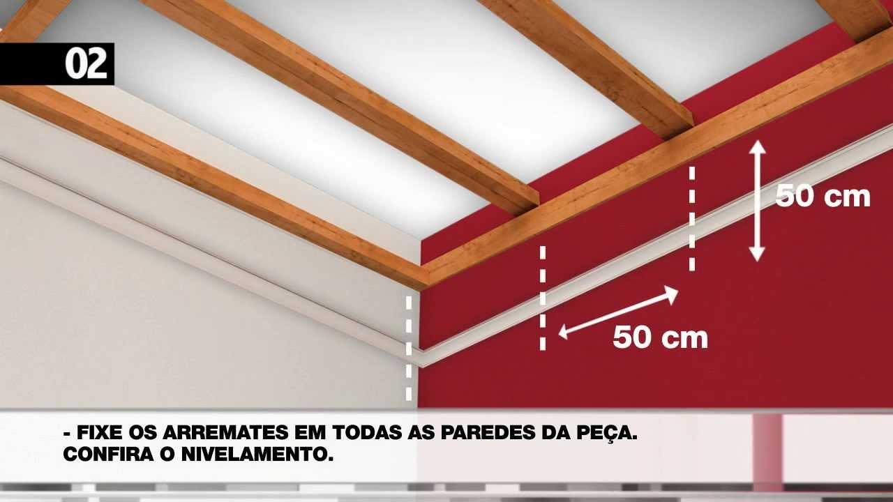 1fcc9628572c WIGGA - INSTRUÇÕES DE INSTALAÇÃO DO SEU FORRO EM PVC - YouTube