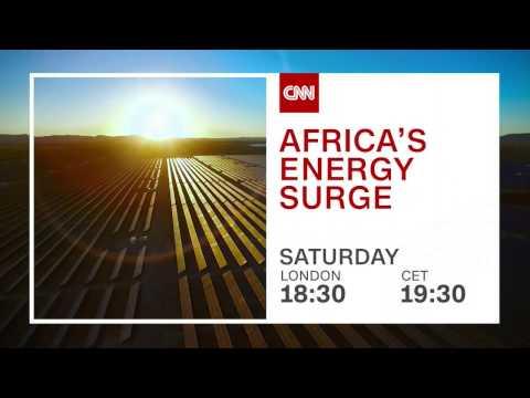 "CNN International: ""Africa's Energy Surge"" promo"