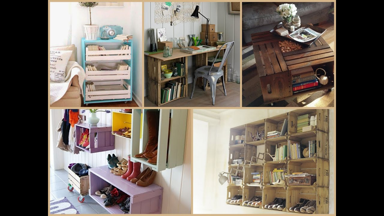 Recycled Wood Crate Projects