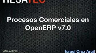 Hesatec  Webinario - OpenERP Procesos Comerciales