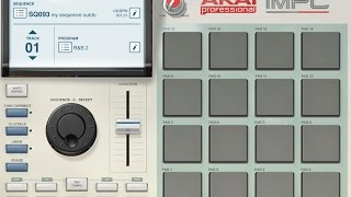 Out of House - Akai iMPC - Garageband - original composition by Andy Barrow