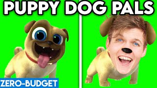 PUPPY DOG PALS WITH ZERO BUDGET! (Puppy Dog Pals FUNNY PARODY By LANKYBOX!)