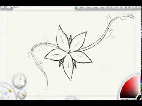 How To Draw How To Draw Flowers