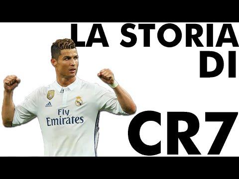 La storia di Cristiano Ronaldo CR7