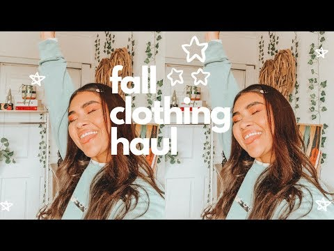 FALL PLUS SIZE TRY-ON HAUL!🍂  American Eagle, Target, H&M + Fall Favorites