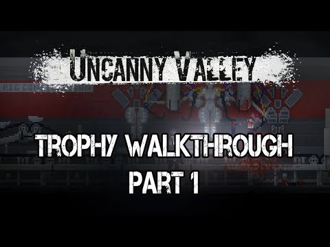 Uncanny Valley - PS4/PS Vita Trophy Walkthrough #1