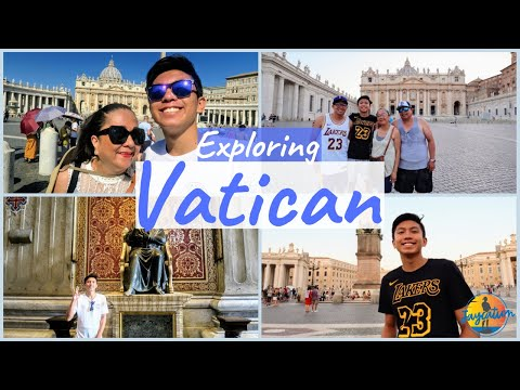 EXPLORING VATICAN CITY - What to See in The Vatican