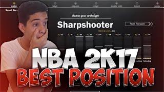 NBA 2K17 PLAYER TELLS ME THE BEST POSITION!!!! 2K17 NEWS