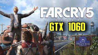 Far Cry 5 GTX 1060 6GB OC | 1080p Ultra Settings | FRAME-RATE TEST