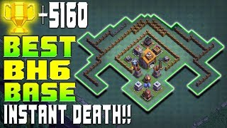 ANTI BH6 MAX!! BEST BULDER HALL 6 BASE BH6 TERKUAT 2017 | W/REPLAY PROOF | CLASH OF CLANS