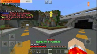 InPvP Live Stream: Minecraft server