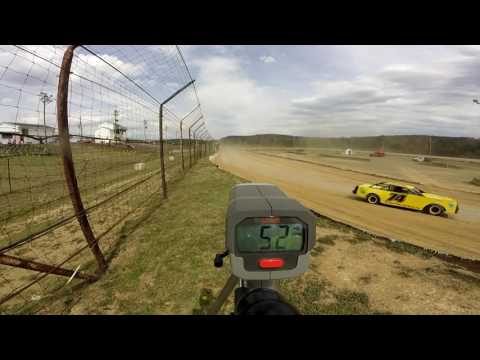 Dog Hollow Speedway - 4/15/17 Pure Stocks Practice Session #2