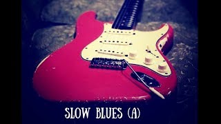 Slow Blues Jam | Sexy Guitar Backing Track (A)