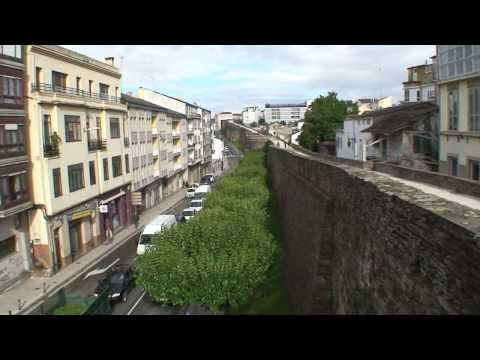 """Roman Walled City from the 3rd Century A.D."", Lugo, SPAIN: UNESCO World Heritage Site"