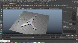 Maya 2016 tutorial : erstellen von 3D-geometrie aus 2D-Bild