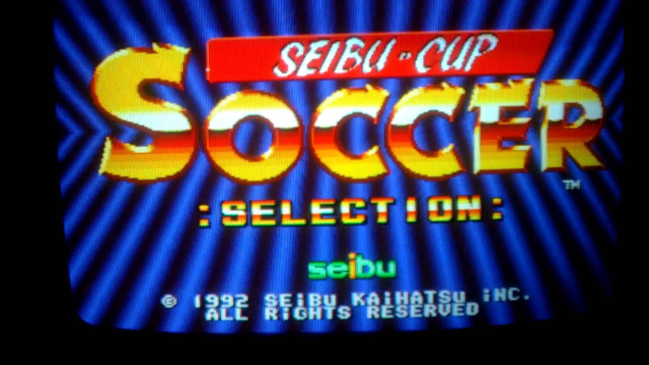 Seibu Cup Soccer (Arcade Game Intro , Not MAME) - YouTube