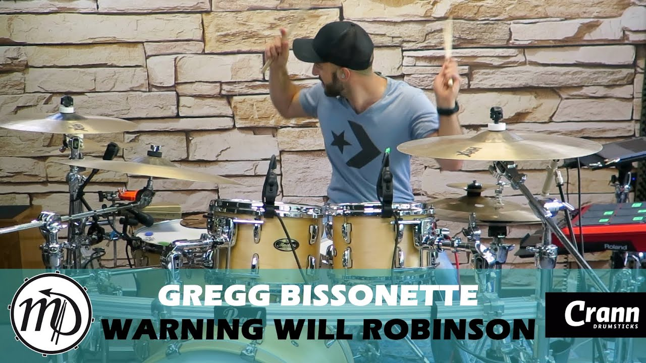 Warning Will Robinson - Gregg Bissonette - Drum Cover Drumeo (Rock) PEARL Maple Gum