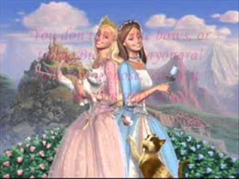 Barbie as: The Princess and The Pauper The Cat's meow Karaoke+lyrics