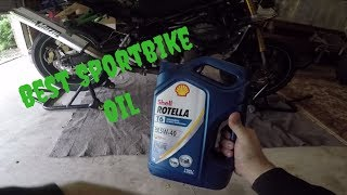 Best Motorcycle Oil + Kawasaki 636 03-04 Stunt Bike Oil Change