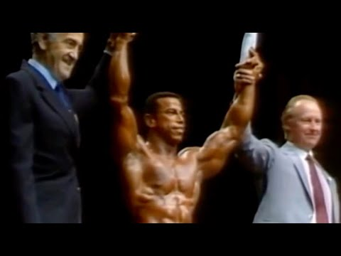 1982 Mr. Olympia Chris Dickerson wins