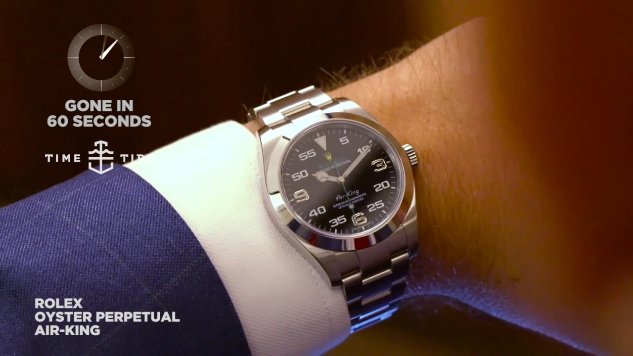 Gone In 60 Seconds Rolex Oyster Perpetual Air King Ref