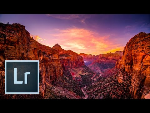 Landscape Photography Zion National Park