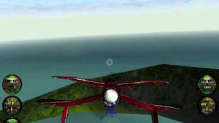 Crimson Skies - first mission gameplay