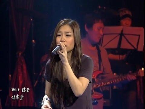 박정현 - 오랜만에 / 편지할게요 @ 2008.01.15 Live Stage # Lena Park - After A Long Time / I'll Write You A Letter