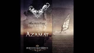 Azamat - White Ocean Sunset - Burning Man 2016