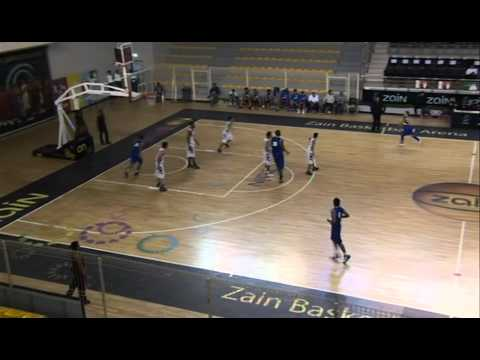 Calvin Hampton Bahrain Basketball Al Najma Vs Al Nuwaidrat Part