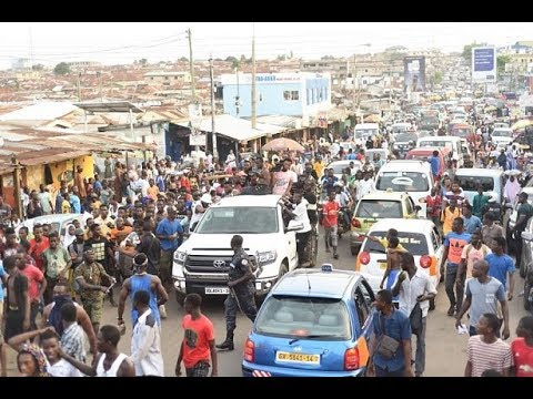 Thousands throng Nima Market for Shatta Wale's birthday celebration