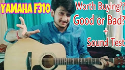 YAMAHA F310-Unboxing & Review!! + Sound Test!!(Good or Bad) Worth Buying?? BEST GUITAR UNDER 8000!!