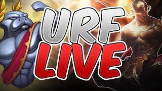 URF ALL RANDOM 2017 LIVE with JUSTKRP - League of Legends - Ultra Rapid Fire All Random