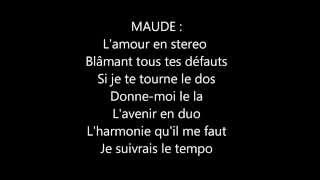 MAUDE Feat Big Ali-DONNE MOI LE LA (Paroles)
