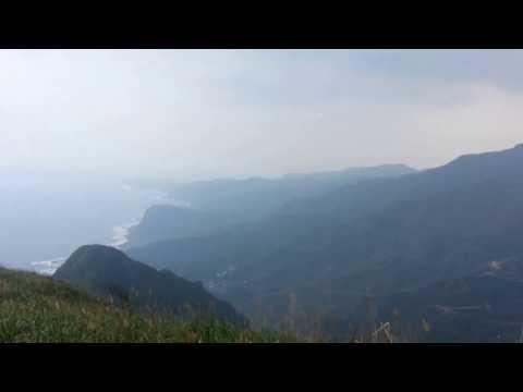 Atop Keelung Mountain (Mt. Jilong), Taiwan