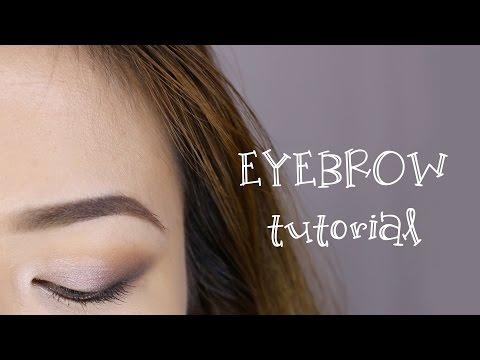 Eyebrow Tutorial | Hướng dẫn kẻ chân mày | GlamVee