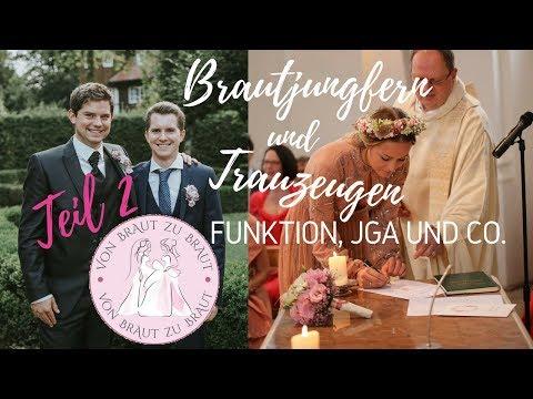 Brautjungfern, Trauzeuginnen Und Trauzeugen – Teil 2