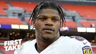 Would a playoff loss to the Titans tarnish Lamar Jackson's stellar season? Max says yes | First Take