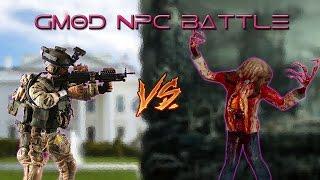 [FAN REQUEST] US MILITARY VS ZOMBIES! (GMOD NPC BATTLE)