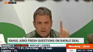 Congress President Rahul Gandhi's Fiery Press Conference On The Rafale Deal