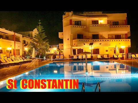ST CONSTANTIN Hotel  Kato Gouves Crete Greece [HD]