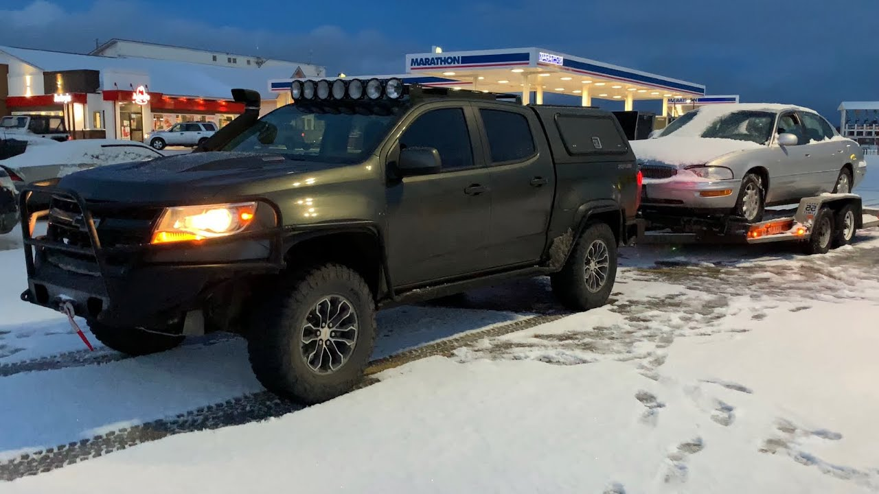 2017 Chevrolet Colorado Towing Capacity >> 2 8l Diesel Colorado Zr2 Max Towing Test 6 000 Lb