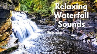 Relaxing Waterfall Sounds for Sleeping | Sounds of Nature