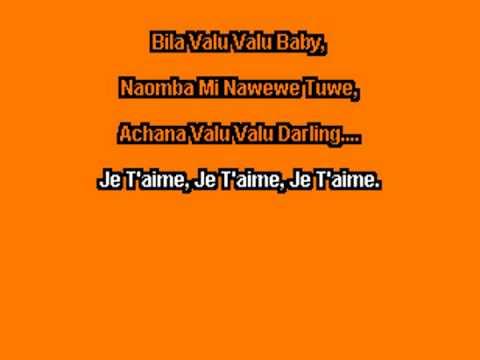 Jose chamillione Valuvalu Karaoke version
