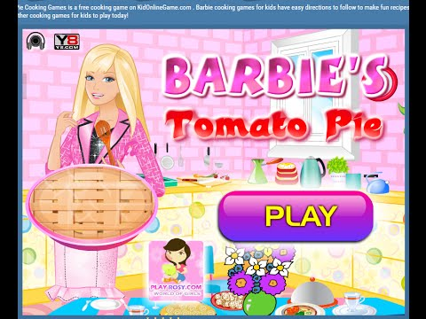Pie Barbie Cooking Games Youtube