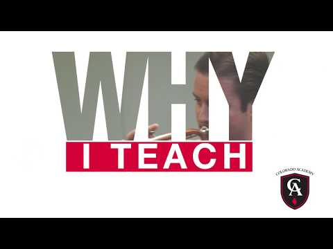 Colorado Academy Combo Director and Instrumental Music Instructor, Phil Jones, on 'Why I Teach'