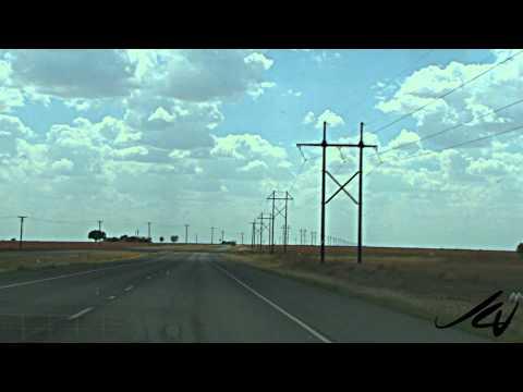 Texas oil wells dot the landscape - YouTube