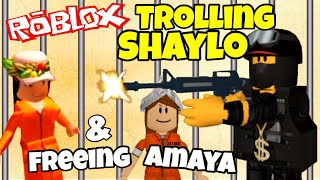 Trolling Shaylo in Roblox Prison Life