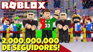 How TO BECOME THE MOST FAMOUS ROBLOX!! (2 thousand MILLION FOLLOWERS!!)