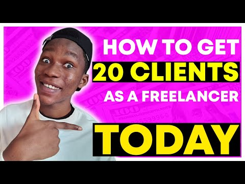 How To Find Clients As A Freelancer (Full Freelancing Tutorial!)